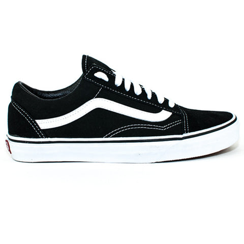 Vans Mens Old Skool Shoes (Black/White)