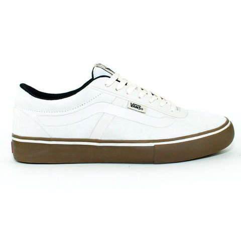 Vans Mens Ave Rapidweld Pro Shoes (White/Gum)