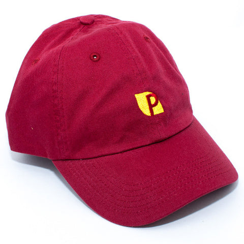Pizza Fumar Strapback Hat (Red)