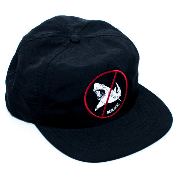 Dark Seas Jaws Snapback Hat (Black)