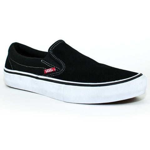 Vans Mens Slip On Pro Shoes (Black/White/Gum)