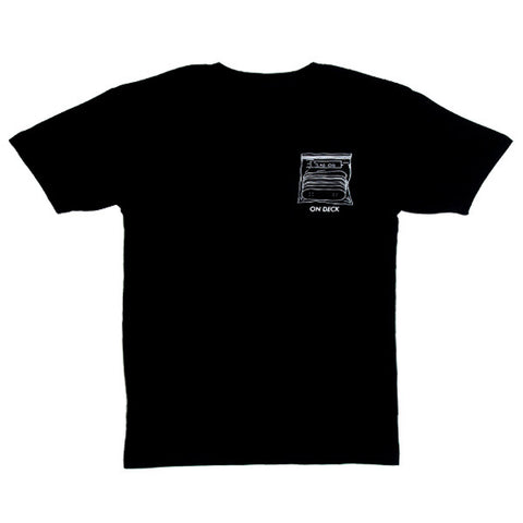Skate All Day On Deck S/S Tee (Black)