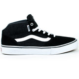 Vans Mens Gilbert Crocket Pro Mid Shoes (Black/Asphalt/White)