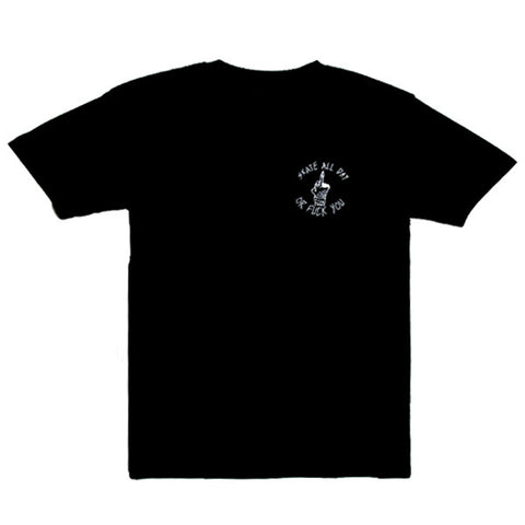 Skate All Day O.F.U. S/S Tee (Black)