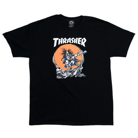 Thrasher New Sk8 Outlaw S/S Tee (Black)