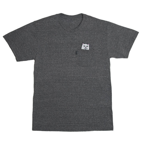 Rip N Dip Lord Nermal S/S Pocket Tee (Grey)