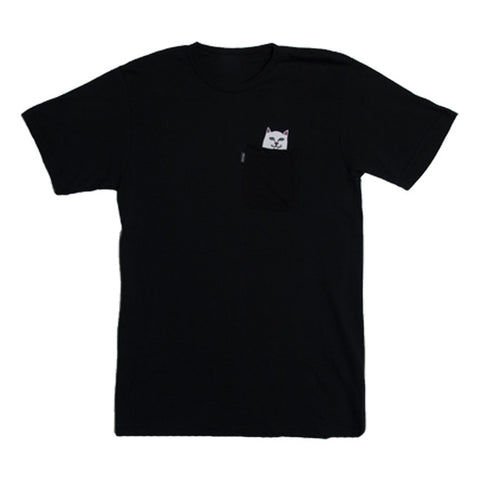 Rip N Dip Lord Nermal S/S Pocket Tee (Black)