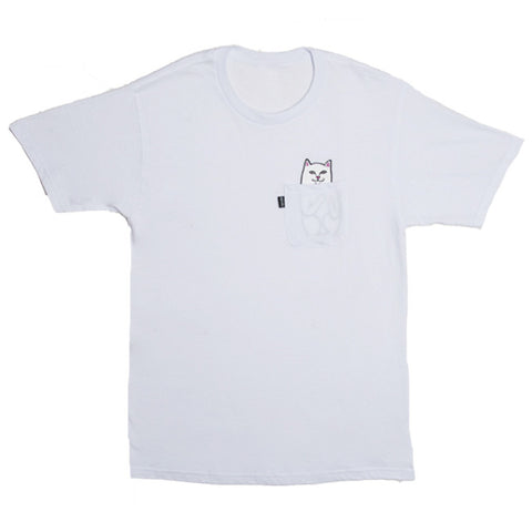 Rip N Dip Lord Nermal S/S Pocket Tee (White)