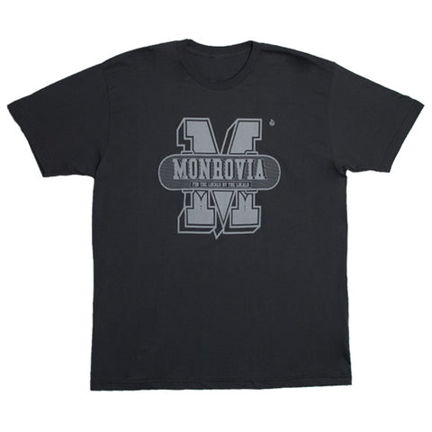 Stix Monrovia Collegiate Tee (Asphalt/Light Grey)