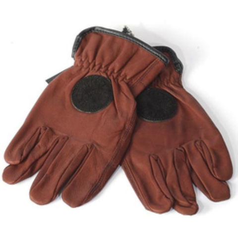 Loser Machine Death Grip Gloves (Brown)