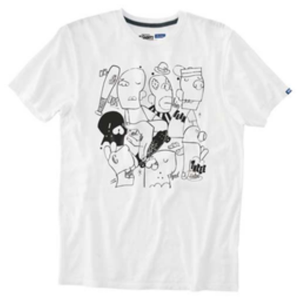 Vans Off the Wall Gallery Chris Tee (White)