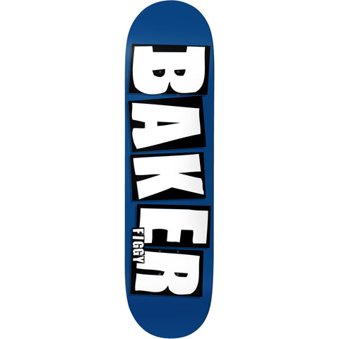 Baker Figgy Brand Name Deck (Blue)