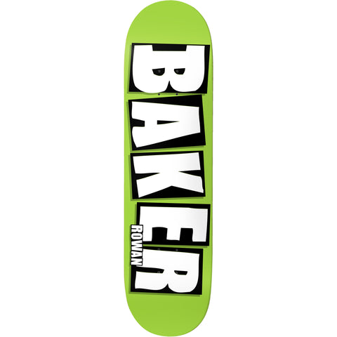 Baker Rowan Brand Name Deck (Lime)