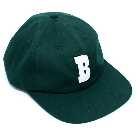 Baker Capital B Strapback Hat (Forest Green)