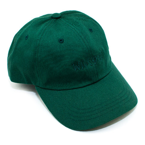 Welcome Scrawl 6 Panel Strapback Hat (Spruce)