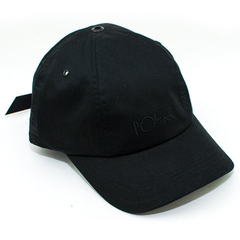 Polar Spin Strapback Hat (Black)