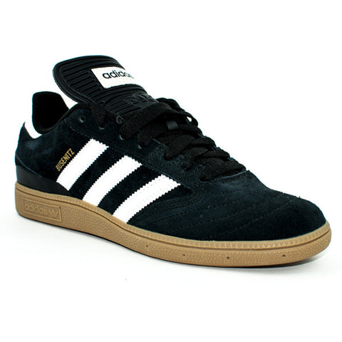 Adidas Busenitz Shoes (Black/White/Gold)
