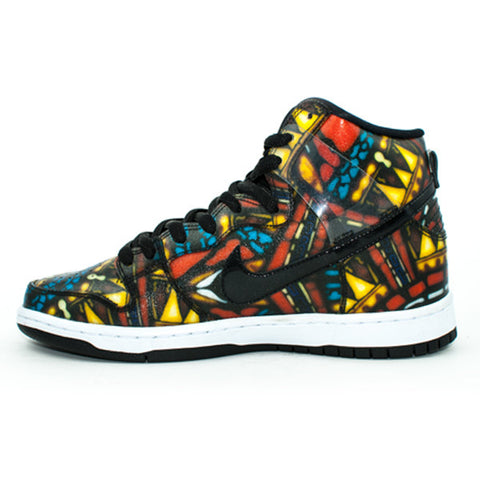 Nike SB QS 'Concept Stained Glass' Dunk High Premium Shoes (Multi)