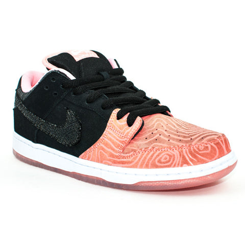 Nike SB QS 'Salmon' Dunk Low Shoes (Pink/Black/White)