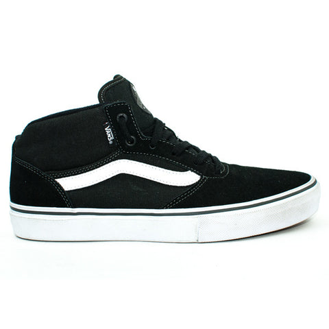 Vans Mens Gilbert Crockett Pro Mid Shoes (Black/White)