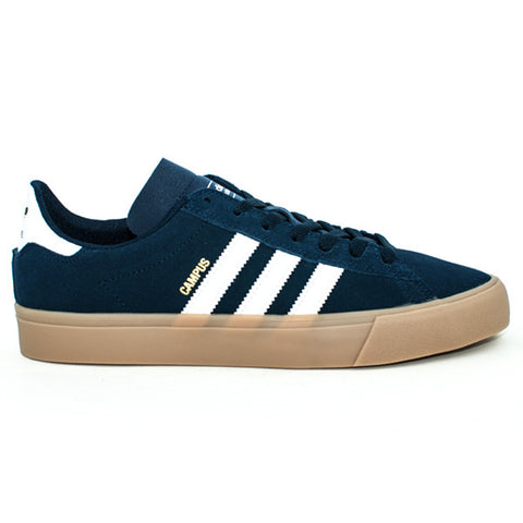 Adidas Campus II Vulc Adv Shoes (Navy/White/Gum)