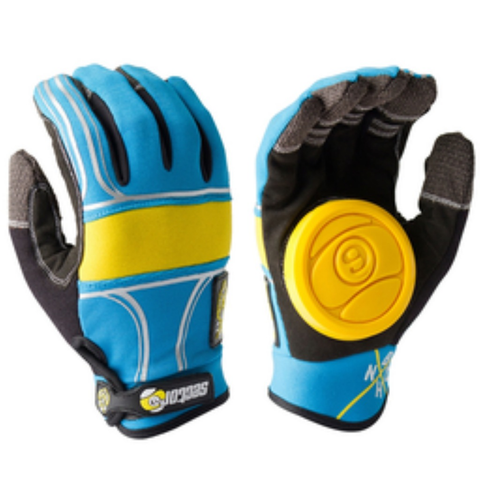 Sector 9 BHNC Slide Gloves (Blue)
