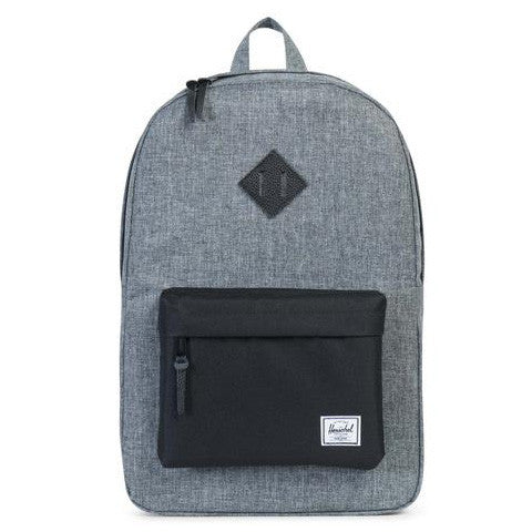 Herschel Heritage Poly Backpack (Raven/Black)