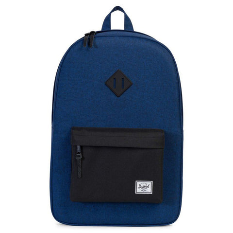 Herschel Heritage Poly/Rubber Backpack (Eclipse/Black)