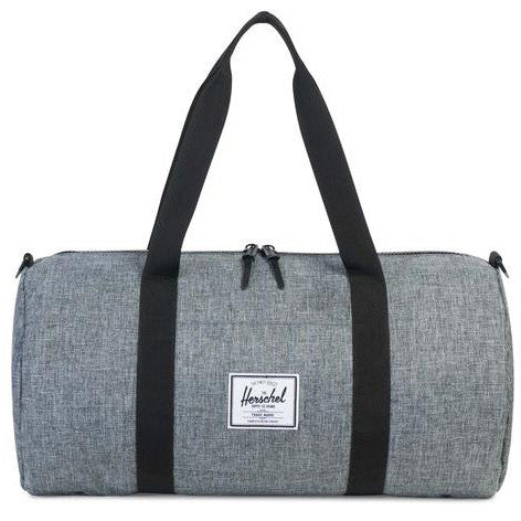 Herschel Sutton Mid-Volume Poly Duffel Bag (Raven)