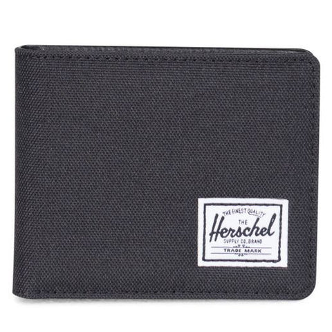 Herschel Hank + 600D Poly Wallet (Black)
