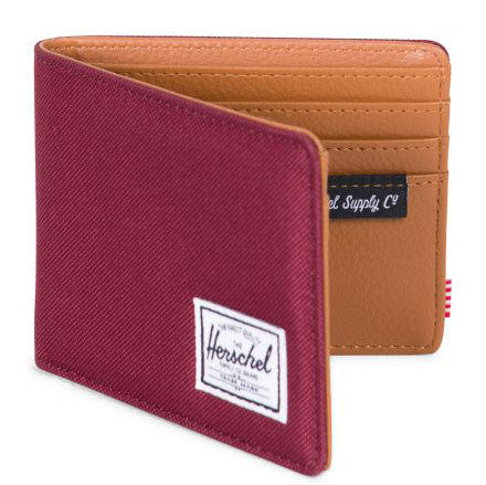 Herschel Hank + 600D Poly Wallet (Windsor Wine)