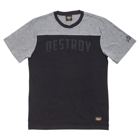 Loser Machine Lightning S/S Knit Tee (Grey/Black)