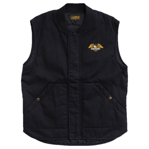 Loser Machine Condor Vest Jacket (Black)