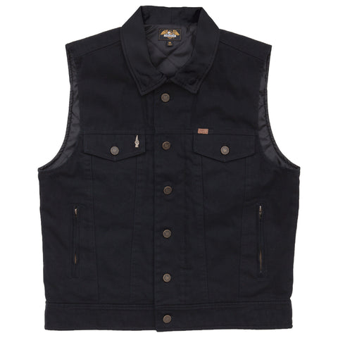 Loser Machine Kingsway III Vest Jacket (Black)