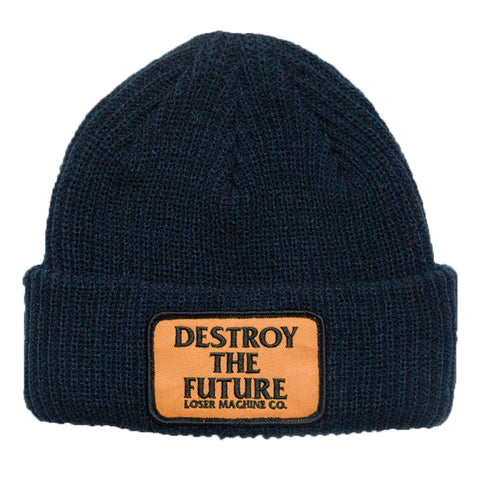 Loser Machine Token Beanie (Dark Navy)