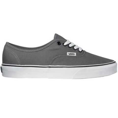Vans Mens Authentic Shoes (Pewter/Black)