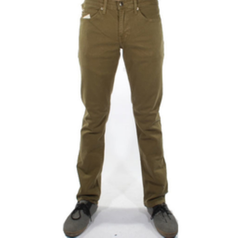 Rustic Dime Slim Fit Denim (Olive)