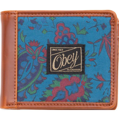 Obey Healer Wallet (Ink Blue)