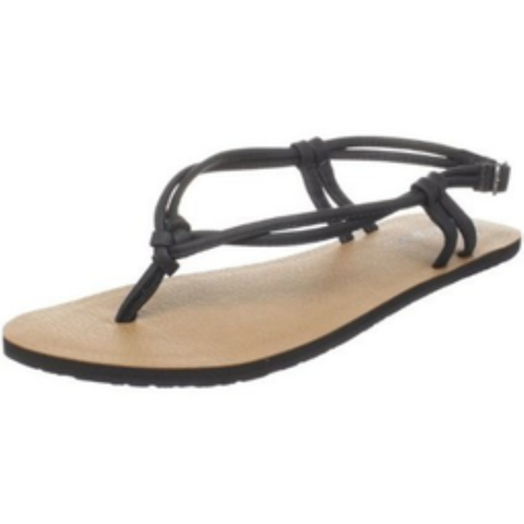 Volcom Flirty Creedlers Womens Sandals (Black)