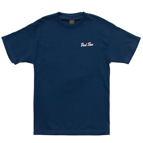 Dark Seas Dino's Dive Premium S/S Tee (Harbor Blue)