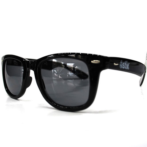Stix Cruz Sunglasses (Gloss Black/Smoke Lens)