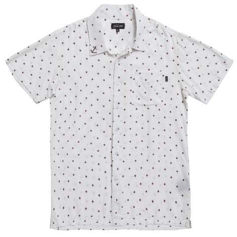 Dark Seas Dusty S/S Woven (White)