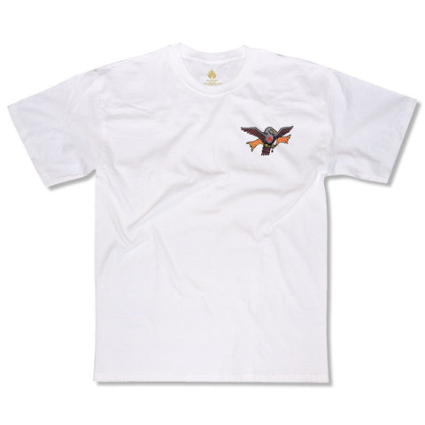 Black Label Matt Hensley Wingtips S/S Tee (White)