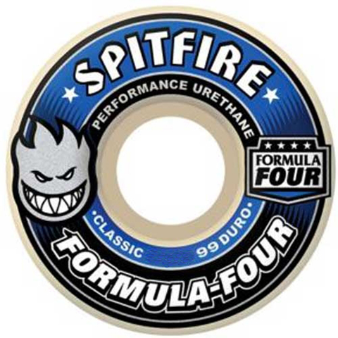 Spitfire Formula Four Classic Wheels (White/99d)