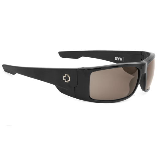 Spy Konvoy Sunglasses (Black/Happy Grey Green Lens)