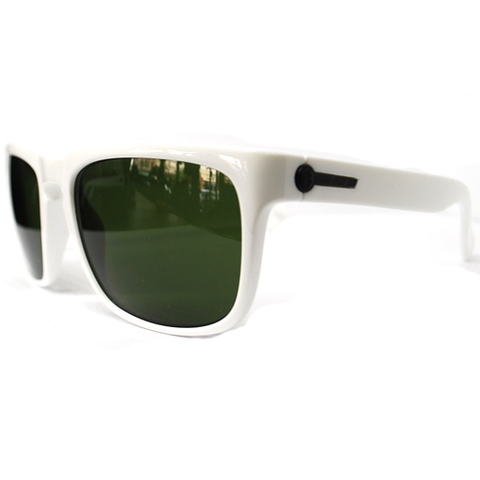 Electric Knoxville Sunglasses (Gloss White/Grey Lens)