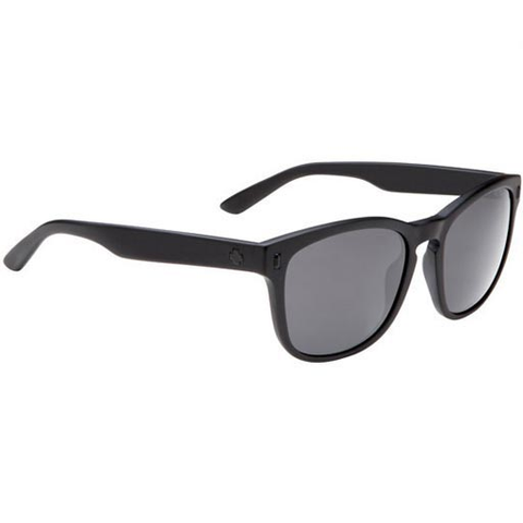 Spy Crosstown Collection Beachwood Sunglasses (Matte Black/Grey Lens)