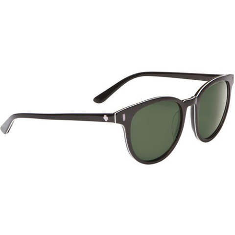 Spy Crosstown Collection Alcatraz Sunglasses (Black/Grey Green Lens)