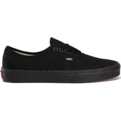 Vans Youth Authentic Shoes (Black/Black)