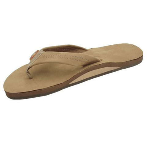 Rainbow Girls Premier Sandals (Sierra Brown/Single/Wide Strap)